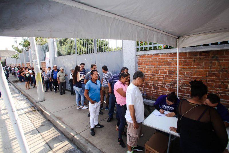 Votantes en la Ratificación de Mandato en Guadalajara